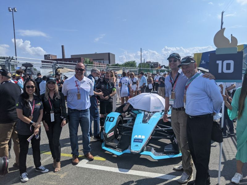Great experience at Formula E in NYC!