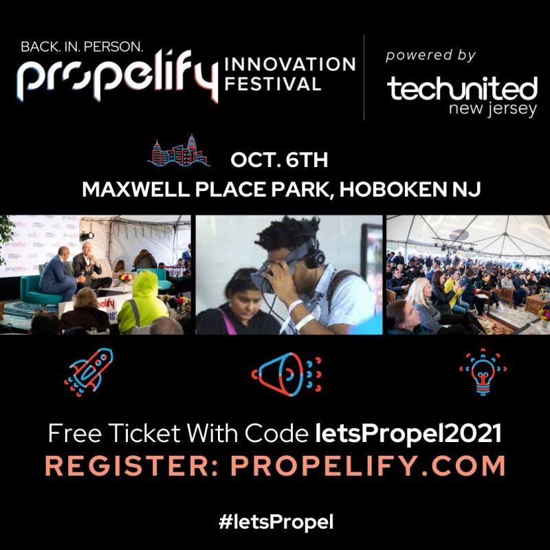 Join us next week at Propelify Innovation Festival!